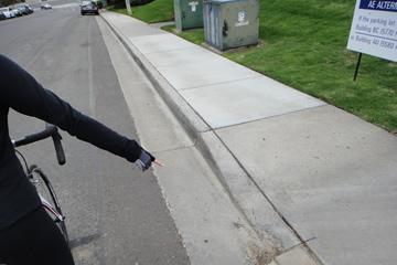 Pothole Hazard Signal