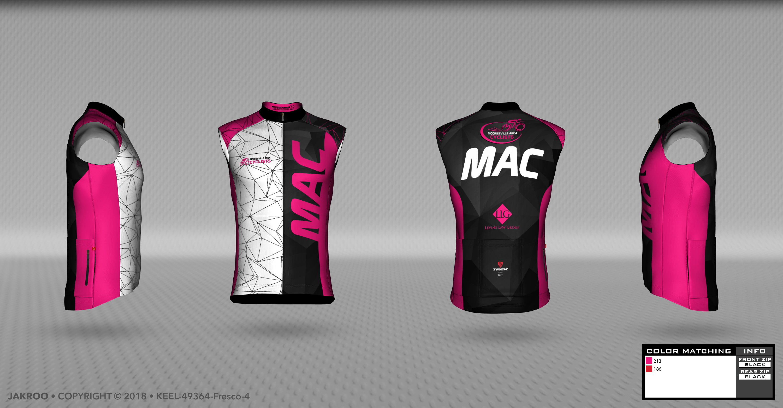 MAC Sleeveless Jersey